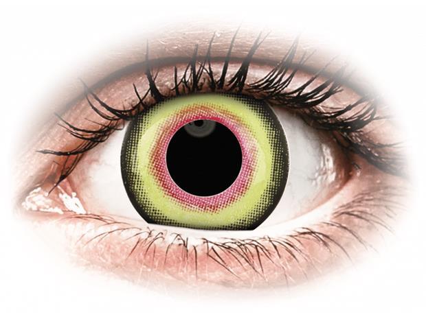 ColourVUE Crazy Lens MadHatter - piilolinssit ilman näönkorjausta (2 kpl)
