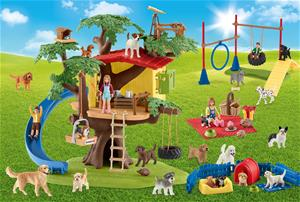 Schmidt Schleich Farm World Happy Dogs 40p palapeli