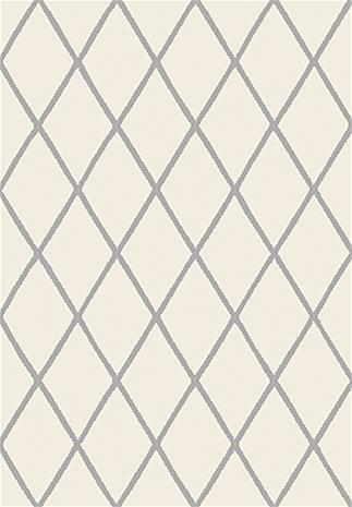 KOODI Krado -matto, luonnonvalkoinen, 160 x 220 cm