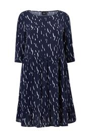 Zizzi Mekko Vamone 3/4 Blk Dress