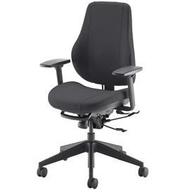 Step+ Työtuoli, istuimen koko 2, selkänojan koko 3, 3D 360 -käsinojilla
