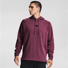 UA Project Rock CC Hoodie, Level Purple