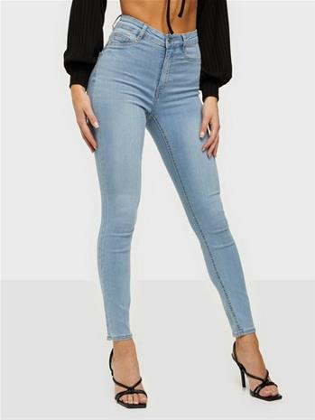 Gina Tricot Molly High Waist Jeans Sky Blue