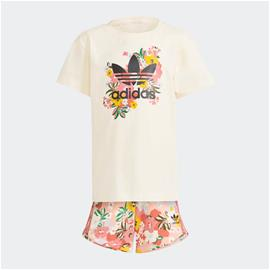 adidas HER Studio London Floral Shorts and Tee Set