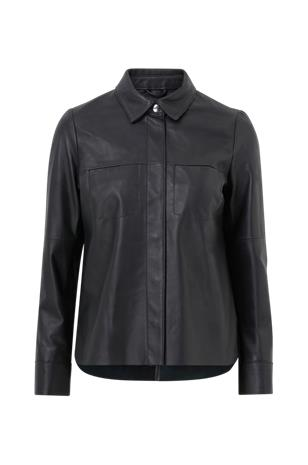Jofama Nahkapaita Anne Leather Shirt Jacket