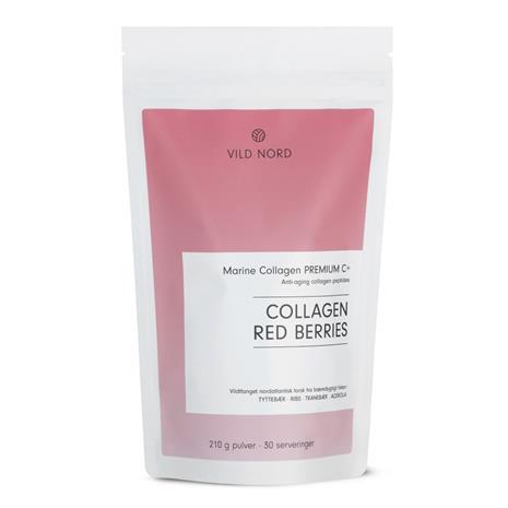 VILD NORD - Collagen RED BERRIES 210 g
