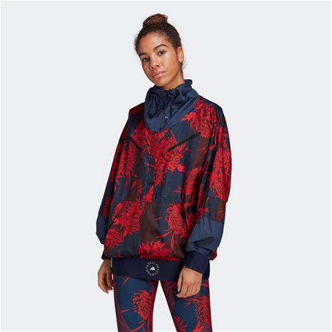 adidas adidas by Stella McCartney Future Playground Half-Zip Printed Jacket