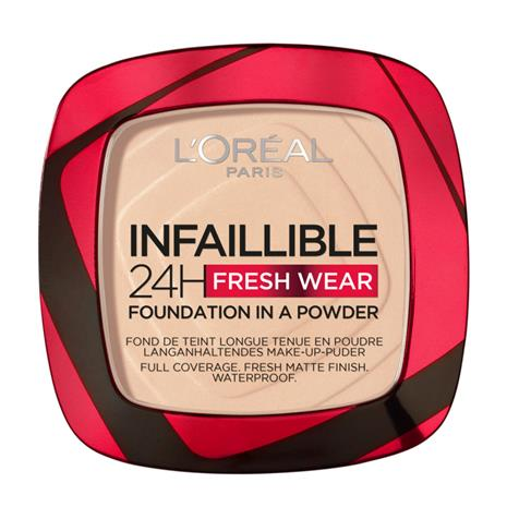 Loreal Paris Infaillible 24H Fresh Wear Powder Foundation Ivory 20