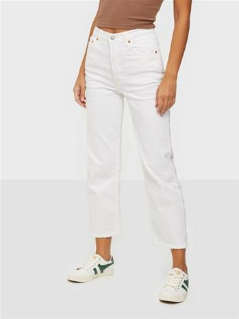 Levis Ribcage Straight Ankle Cloud O