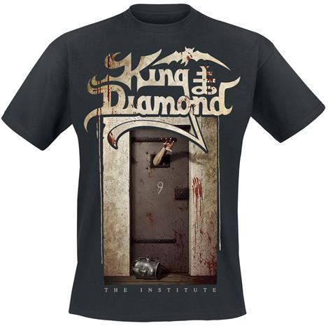 King Diamond - The Institute - T-paita - Miehet - Musta