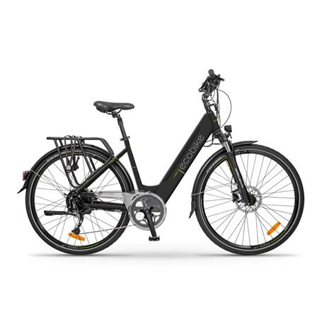 Ecobike X-Cross 16 ah LG-sähköpyörä, musta, 2021