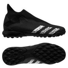 adidas Predator Freak .3 Laceless TF Superstealth - Musta/Valkoinen