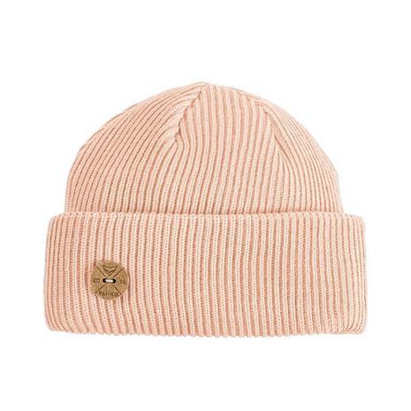 VAI-KØ Timberjack Beanie - Merino Wool, Salmon Pink