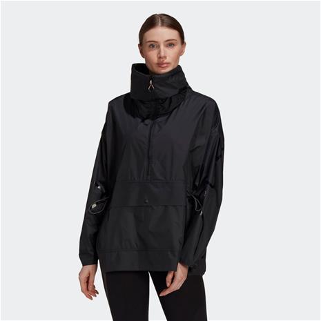 adidas adidas by Stella McCartney Half-Zip Mid-Length Jacket