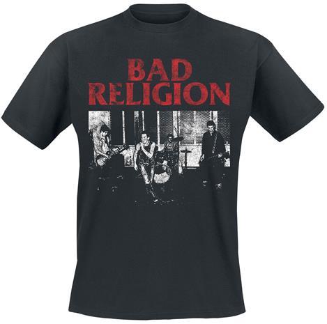 Bad Religion - Live 1980 - T-paita - Miehet - Musta