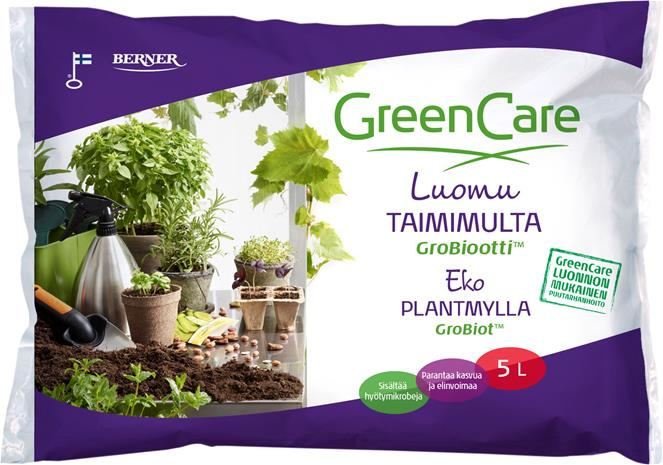 Taimimulta Greencare Grobiootti 5 l
