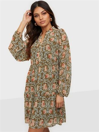 Object Collectors Item Objsteph Gia L/S Short Dress 113 Di