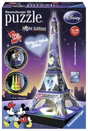 Ravensburger Disney Eiffel Tower 216p 3D palapeli