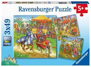 Ravensburger Life Of The Knight 3x49p palapeli