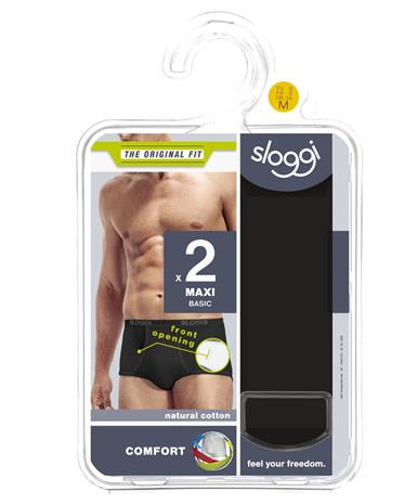 Sloggi Men Basic Maxi 2-pack miesten alushousut