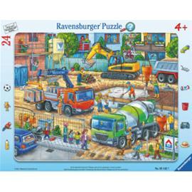 Ravensburger Rakennustyömaalla tapahtuu jotain!