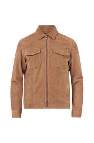 jack & jones Mokkatakki jprRic Leather Jacket
