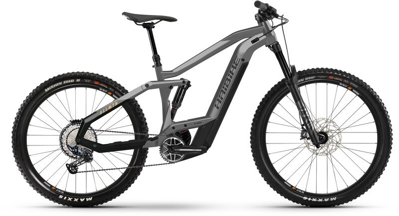 HAIBIKE AllMtn 4, cool grey/black matte