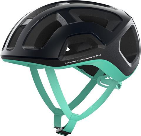 POC Ventral Lite Helmet, uranium black/fluorite green matt