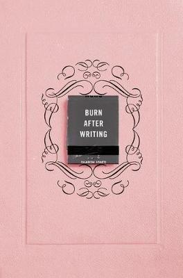 Burn After Writing (Pink) (Sharon Jones), kirja