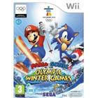 Mario & Sonic At The Olympic Winter Games, Nintendo Wii -peli