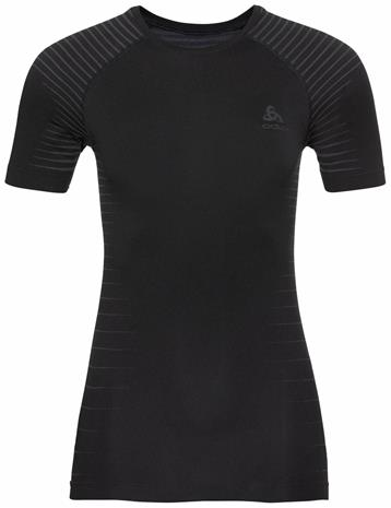 Odlo Women's Performance Light Base Layer T-Shirt Musta XS