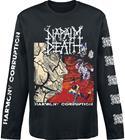 Napalm Death - Harmony Corruption - Pitkähihainen paita - Miehet - Musta