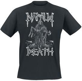 Napalm Death - Reaper - T-paita - Miehet - Musta
