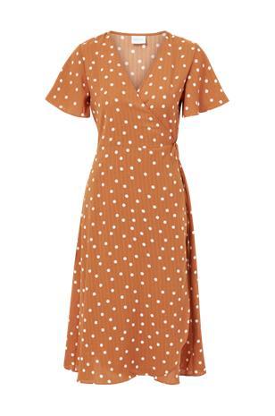 Vila Kietaisumekko viLovie S/S Wrap Midi Dress