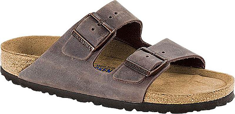 Birkenstock Arizona Sandals Oiled Leather Narrow, habana