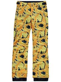 O'Neill Charm Aop Pants yellow aop w / brown Tytöt