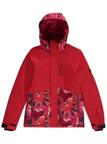 O'Neill Coral Jacket fiery red Tytöt