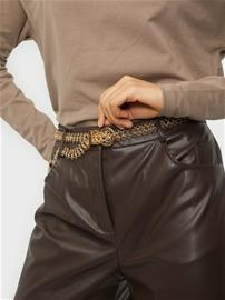Pieces Pckecia Metal Waist Belt D2D Gold Colour
