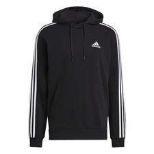 adidas Huppari 3-Stripes Essentials - Musta/Valkoinen, Miesten takit, paidat ja muut yläosat
