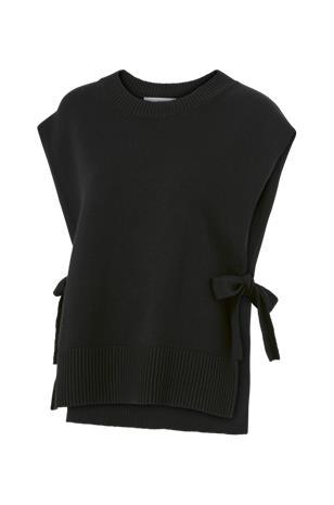 Selected Femme Liivi slfTinka Tie Knit Vest, Naisten paidat, puserot, topit, neuleet ja jakut