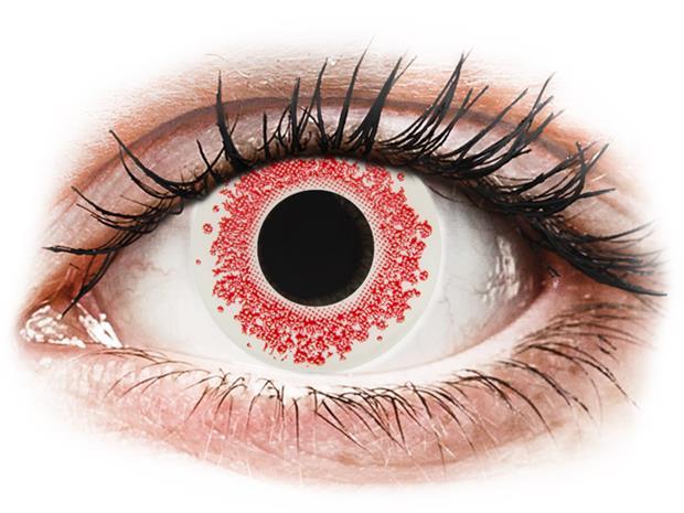 Gelflex CRAZY LENS - Red Wedding - piilolinssit ilman näönkorjausta (2 kpl)