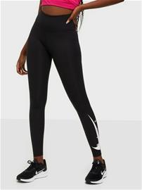 Nike W Nk Swoosh Run Tight 7/8 Black