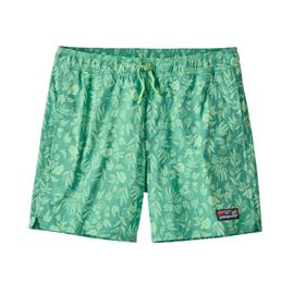 "Patagonia Stretch Wavefarer Volley Shorts 16"""" Men, fiber flora/light beryl green"