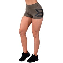 Better Bodies Gracie Hotpants, Wash Green, M