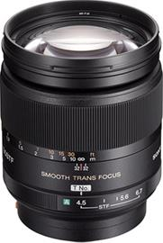 Sony AF 135mm f/2.8 STF (SAL-135F28), objektiivi