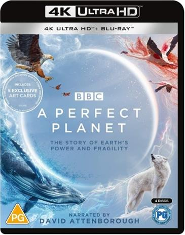 A Perfect Planet (2021, 4k UHD + Blu-Ray), TV-sarjaa