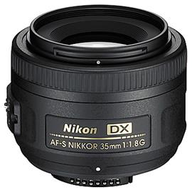 Nikon AF-S Nikkor 35mm f/1.8 DX G, objektiivi