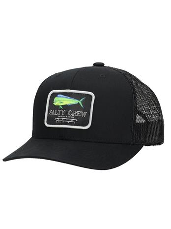 Salty Crew Mahi Mount Retro Trucker Cap black