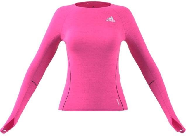 adidas Adi Runner LS Shirt Women, screaming pink