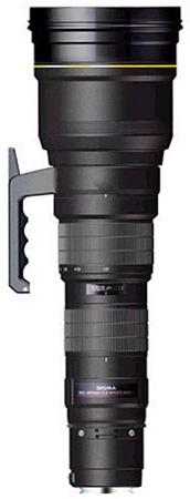 Sigma 300-800mm f/5.6 EX DG APO IF HSM, objektiivi